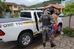 Prisões ocorreram nos bairros Navegantes, São Martim e Loteamento Popular Crédito: Brigada Militar